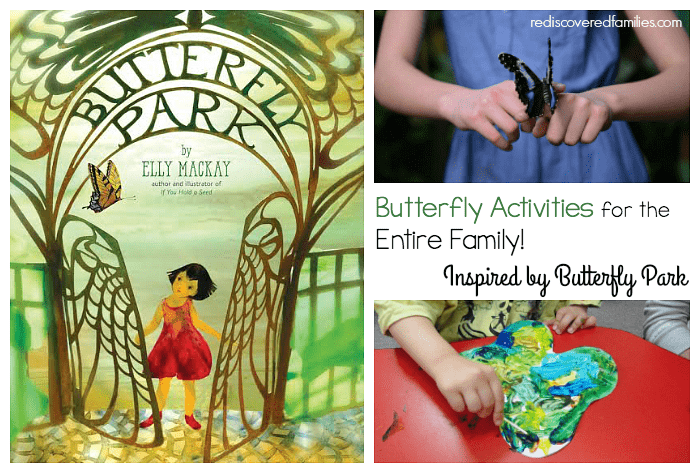 Butterfly Activities for the whole family inspired by the children's book Butterfly Park!