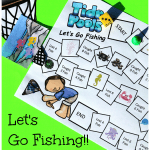 Skip Counting Math Game for Kids Inspired by the Oceans and Tide Pools
