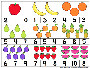 free printable count and clip cards