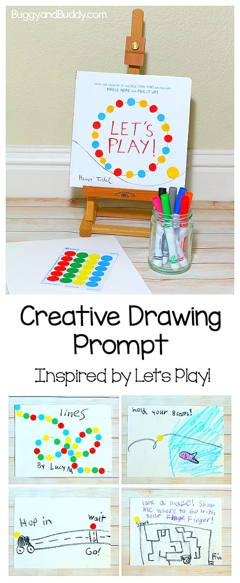 let's play drawing prompt for kids