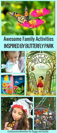 Activities for Kids inspired by the children's book Butterfly Park!
