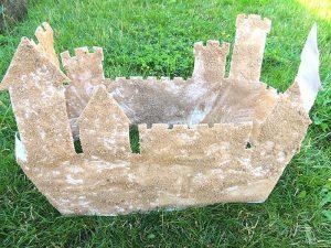3-D Sandcastle Craft for Kids