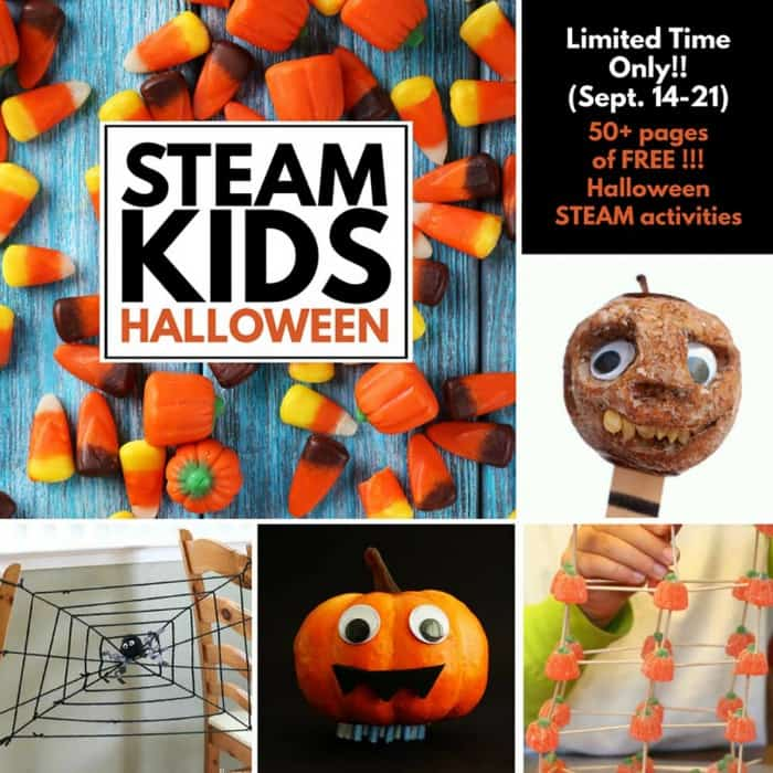 Halloween STEAM and STEM activities for kids