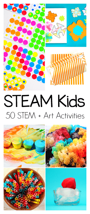STEAM Kids: 50+ Science, Technology, Engineering, Art, and Math Activities for Kids