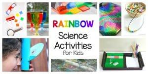 Rainbow Science Activities for Kids