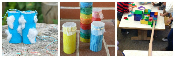 science projects for kids using cardboard tubes
