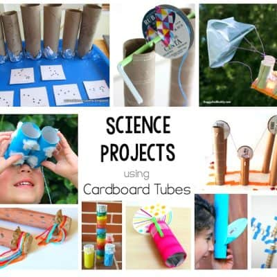 Science Projects with Cardboard Tubes