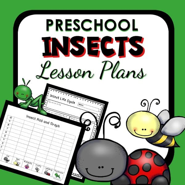 preschool insects lesson plans