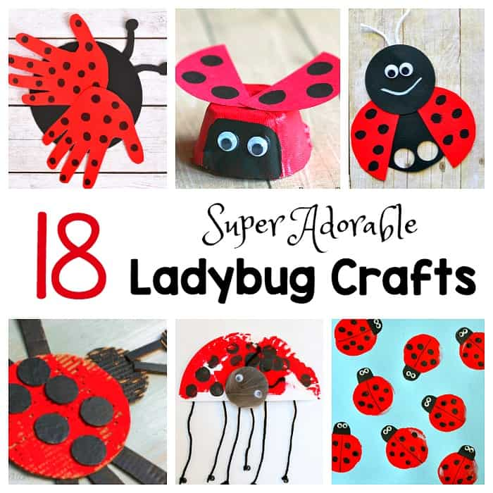 18 ladybug crafts for kids