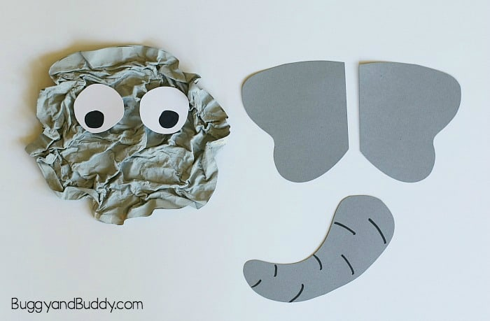 unique and fun elephant craft for kids