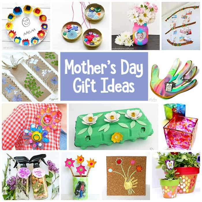 Mother's Day Homemade Gifts for Kids to Make - Buggy and Buddy
