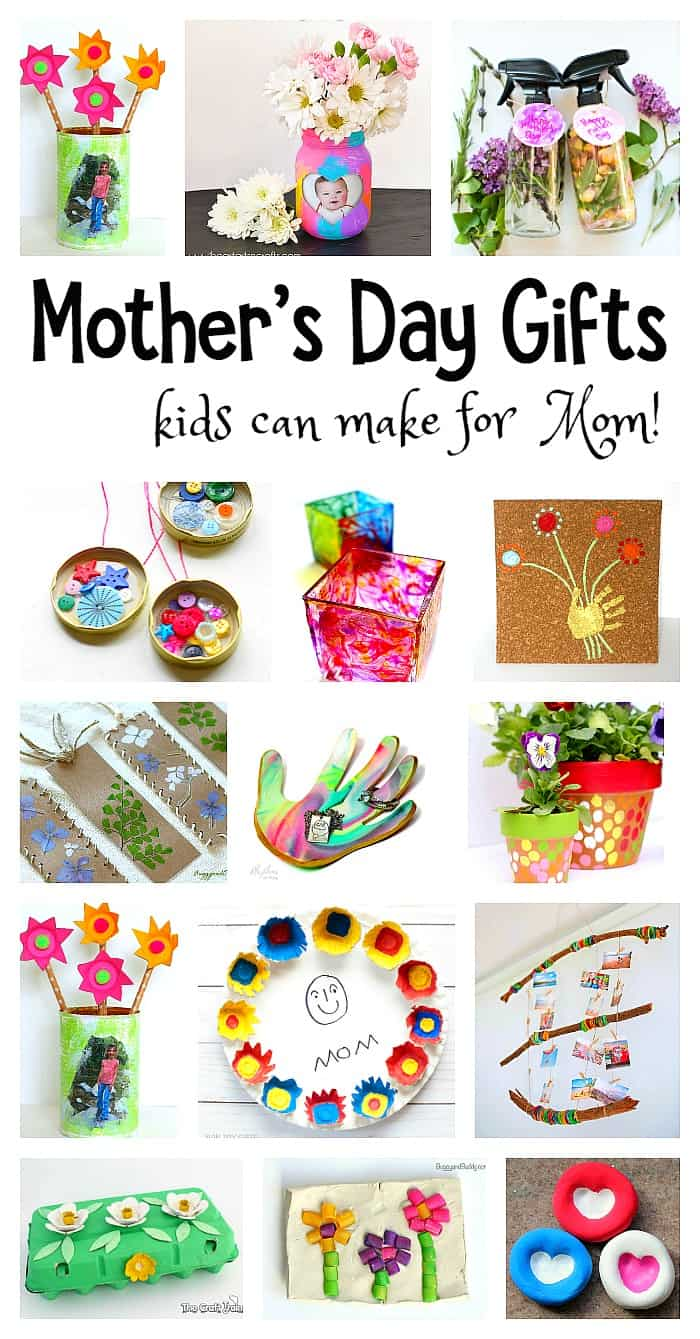 Mother 39 S Day Homemade Gifts For Kids To Make Buggy And Buddy