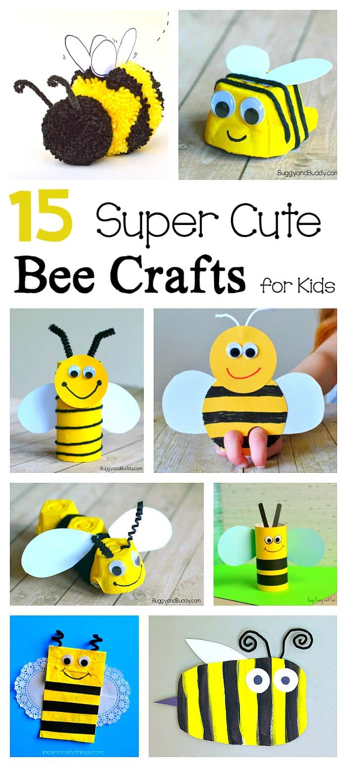 15 Bee Crafts for Kids