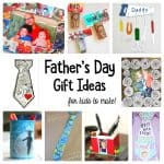 Homemade Father's Day Gifts Kids Can Make for Dad!