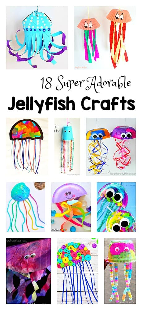 18 Jellyfish Crafts For Kids Buggy And Buddy