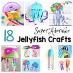 18 super adorable jellyfish crafts for kids