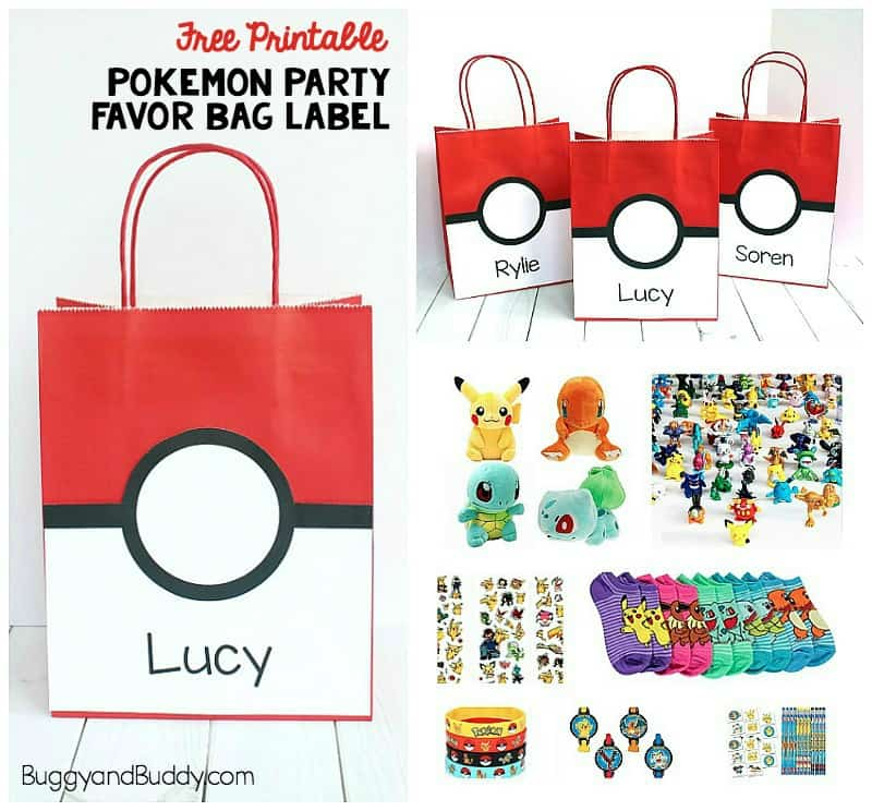 photograph about Printable Pokeball identify Pokemon Occasion Like Bag with Absolutely free Printable - Buggy and Good friend