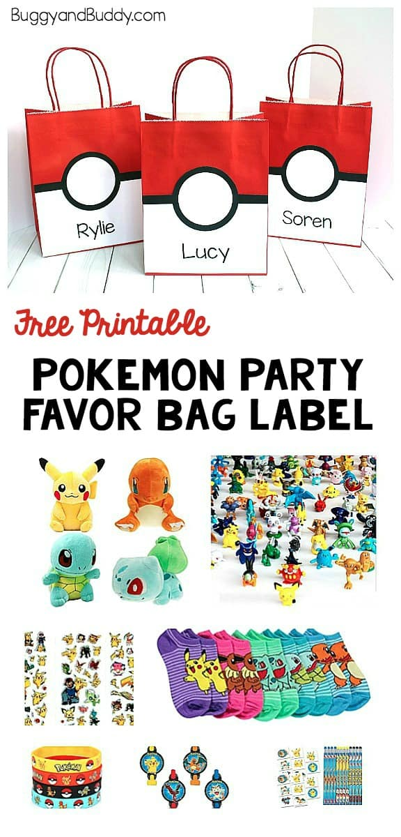 Pokemon Party Favor Bag Make A Simple Pokeball Treat For Your Themed Birthday
