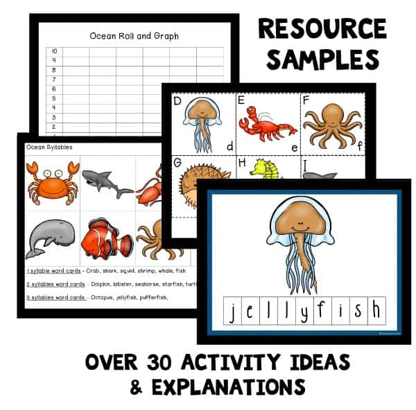 ocean preschool unit resources