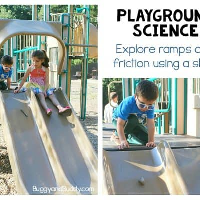Playground Science for Kids: Exploring Ramps and Friction on a Slide