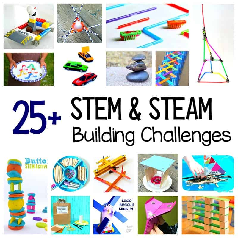 Prepare Your Child For Stem Subjects: 25+ STEM Challenges For Kids: Child-Centered Projects