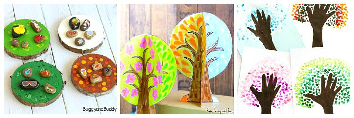 four seasons crafts for kids