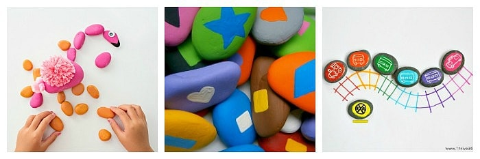 cool things to do with painted rocks