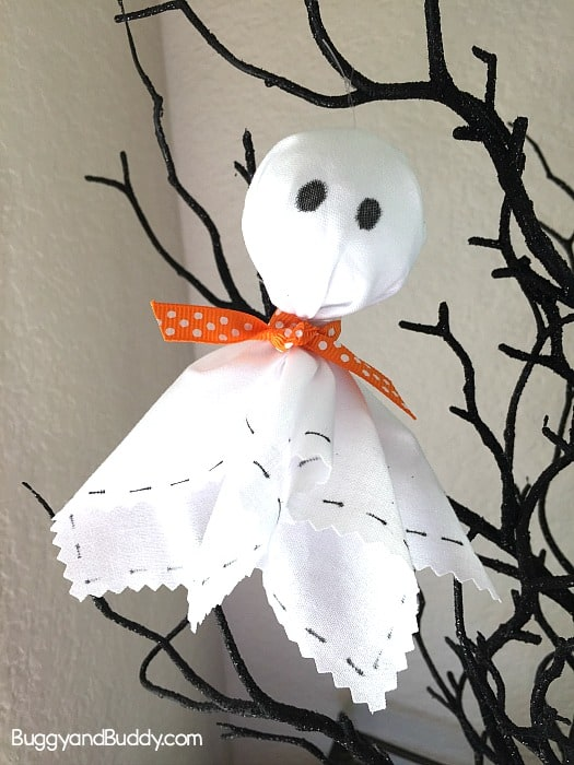 ghost craft for kid and adults for Halloween