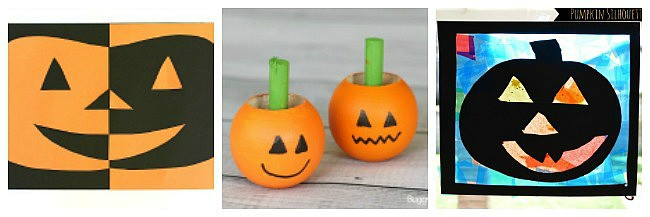 jack-o-lantern crafts for kids
