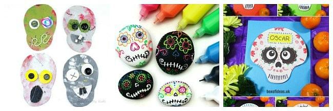 skull crafts for kids