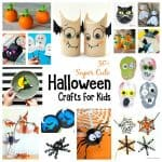 50+ Super Cute and Cool Halloween Crafts for Kids