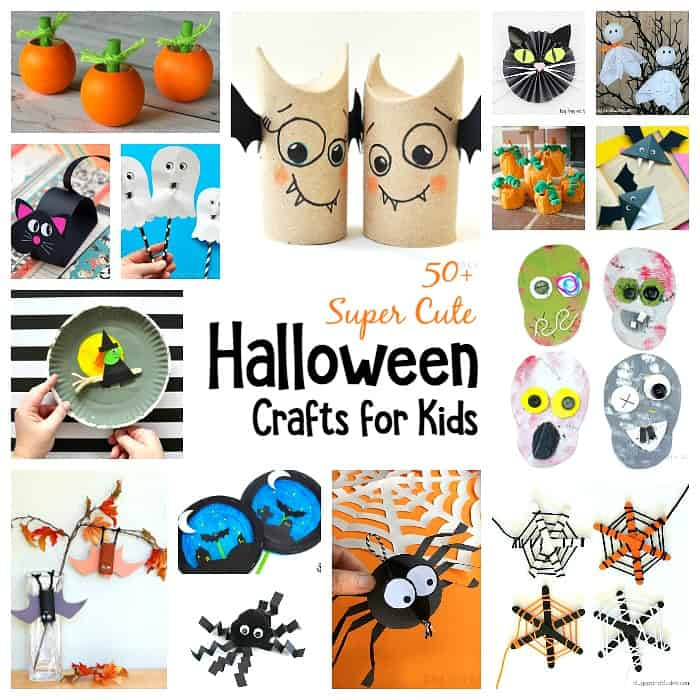 photograph relating to Free Printable Halloween Crafts identify 50 Tremendous Interesting Halloween Crafts for Youngsters - Buggy and Mate