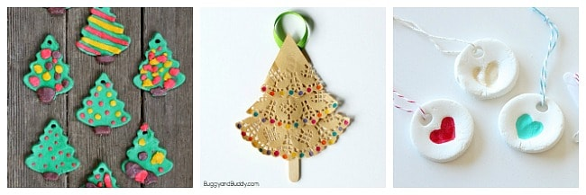 christmas ornament crafts for kids to make