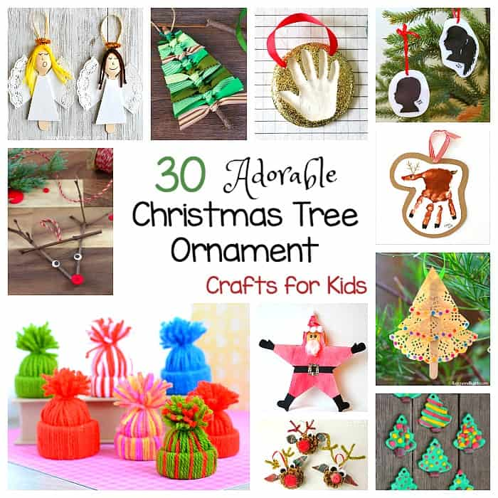 30 homemade christmas ornaments for kids to make