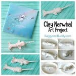 Clay Narwhal Art Project for Kids