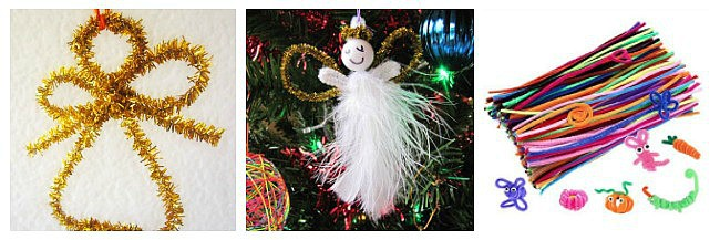 pipe cleaner angel crafts for kids