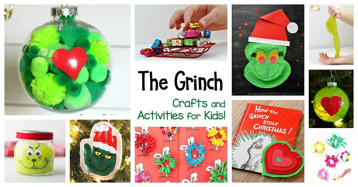 15 Grinch Crafts And Activities For Kids Buggy And Buddy