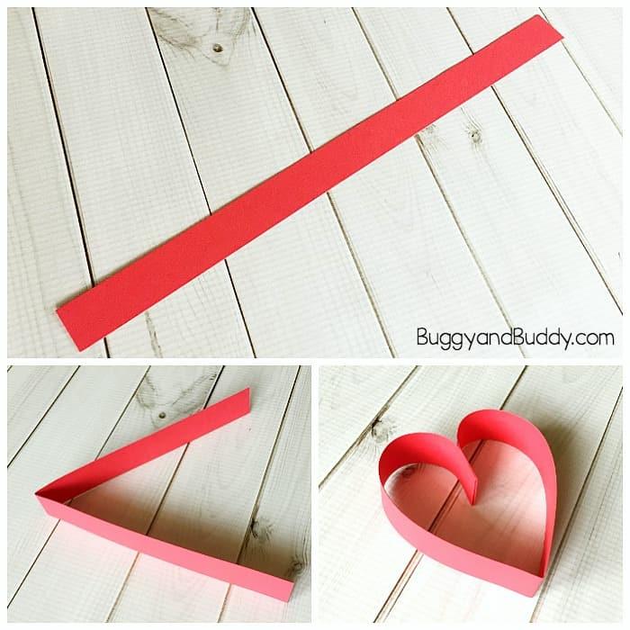 paper heart craft