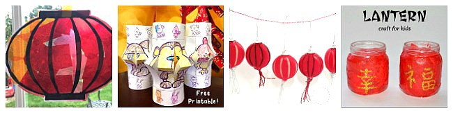 lantern crafts for chinese new year