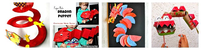 dragon crafts for kids