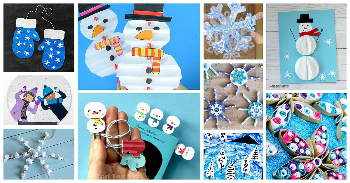 12 Of The Cutest Winter Crafts For Kids Buggy And Buddy