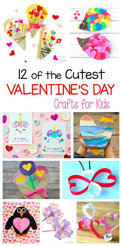 12 of the cutest Valentine's Day Crafts for Kids