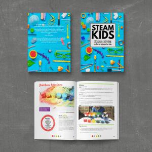 steam kids book