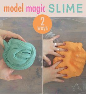 model magic slime from Art Bar Blog