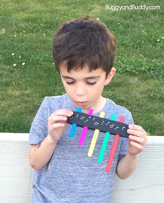 pan flute craft and stem activity for kids