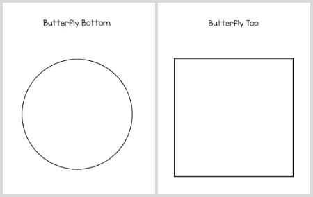 free printable pdf templates for butterfly craft