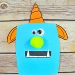 Paper Monster Craft for Kids