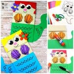 Mermaid Paper Bag Puppet