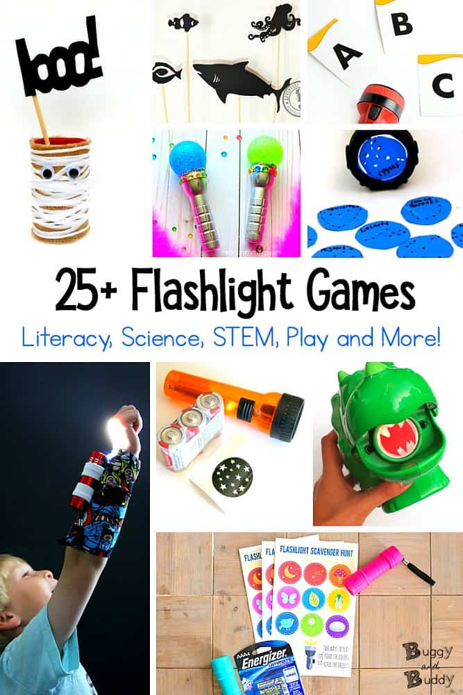 25+ Flashlight Games and Activities for Kids - Buggy and Buddy