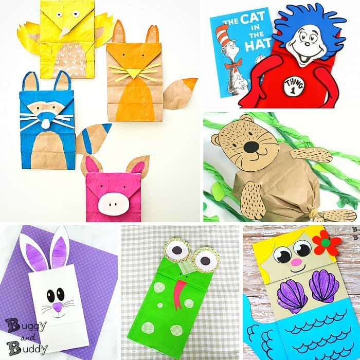 20+ Paper Bag Crafts for Kids